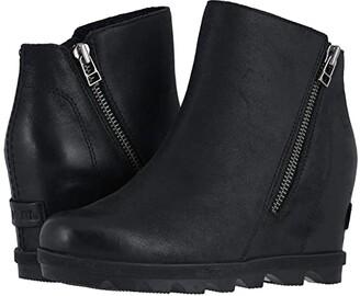 Sorel Joan of Arctictm Wedge II Zip (Quarry) Women's Boots