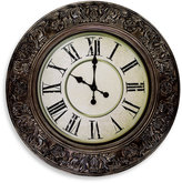 Bed Bath & Beyond Ornate Wall Clock in Bronze