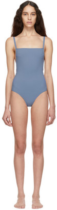 WARD WHILLAS Blue Bentley One-Piece Swimsuit