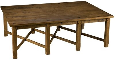 Thumbnail for your product : MacKenzie-Dow Solid Wood Coffee Table Color: Natural