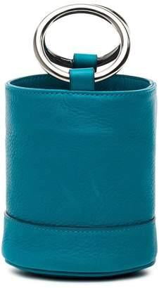 Simon Miller blue bonsai 15 mini leather bucket bag