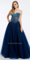 Camille La Vie Ombre Corset Prom Dress