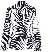 Suit Jacket Zebra