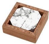 DENY Designs Marble Set Of 4 Coasters
