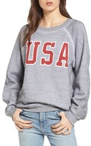 Wildfox Couture Women's Baggy Beach Jumper - Usa Pullover