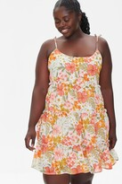 Thumbnail for your product : Forever 21 Plus Size Tropical Floral Dress