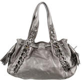 Michael Kors Metallic Chain Shoulder Bag