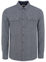 George Herringbone Long Sleeve Shirt