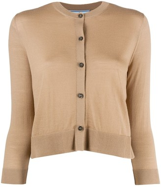 Prada Button-Up Wool Cardigan