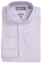 Michael Bastian Men's Trim Fit Geo Check Dress Shirt