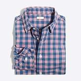 J.Crew Factory Boys' long-sleeve heathered washed shirt