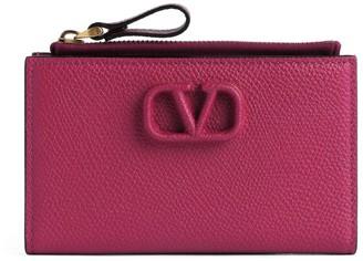 Valentino Garavani VLOGO Bifold Zipped Wallet