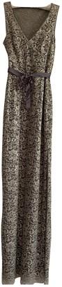 BCBGMAXAZRIA Metallic Lace Dress for Women
