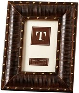 "Twos Company Two's Company Bamboo Photo Frame, 4"" x 6"""