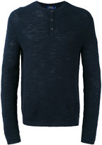Polo Ralph Lauren buttoned sweater - men - Cotton/Linen/Flax - S