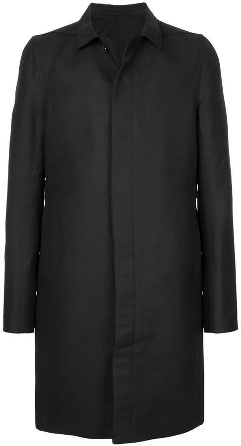 Rick Owens single breasted coat
