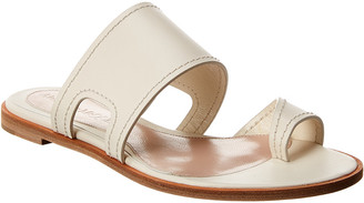 Alexander McQueen Leather Sandal