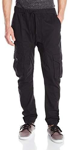 Akademiks Men's River Cargo Twill Jogger Pants