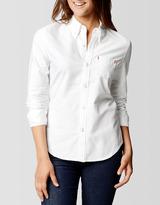 True Religion Womens One Pocket Oxford Shirt