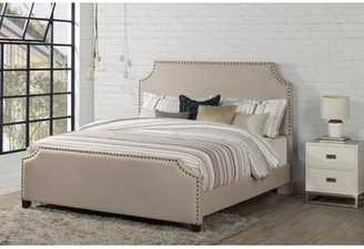 Birch Lane Parker Upholstered Standard Bed Heritage Size: Queen