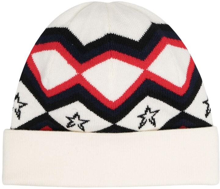 Perfect Moment Merino Pattern Beanie Hat