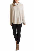 Mud Pie Tobi Turtleneck Poncho
