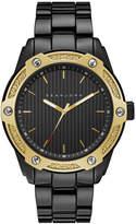 Sean John Men's Corsica Black Bracelet Watch 46mm