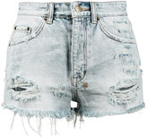 Ksubi Tongue n Cheek High Rise Denim Shorts