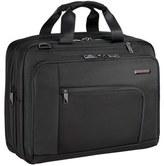 Briggs & Riley Men's 'Verb - Adapt' Expandable Briefcase - Black