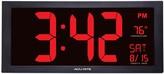 Acurite AcuRite Extra Large LED Clock with Indoor Temperature