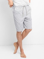 "Gap Stripe sleep shorts (10"")"