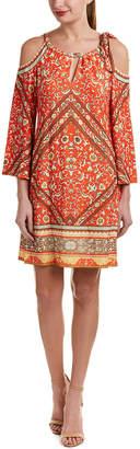 Hale Bob Cold-Shoulder Shift Dress