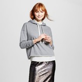 Who What Wear Women's Deconstructed Hoodie
