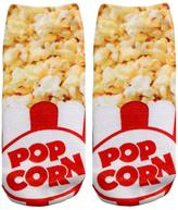 Living Royal Popcorn Themed Socks