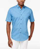 Club Room Men's Leaf Shower Cotton Shirt, Only at Macy's