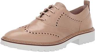 Ecco Women's Incise Tailored Wing Tip Oxford Flat