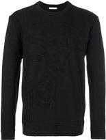 Versace Medusa embossed sweatshirt - men - Cotton - M