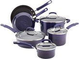 Rachael Ray 10-pc. Nonstick Porcelain Enamel II Cookware Set, Eggplant Gradient