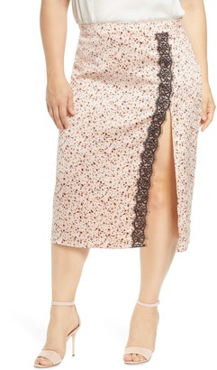 Leith Lace Trim Skirt