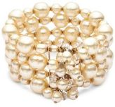 Miriam Haskell Studded Faux Pearl Bracelet