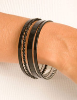 Black Assorted Bangle Set