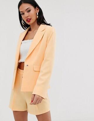 Miss Selfridge blazer in yellow