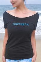 Namaste Jala Clothing Raw Shoulder Top
