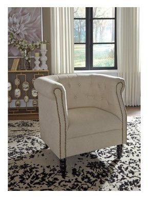 Signature Design by Ashley Jacquelyne Natural Accent Chair