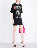 Moschino Multi-logo jersey dress