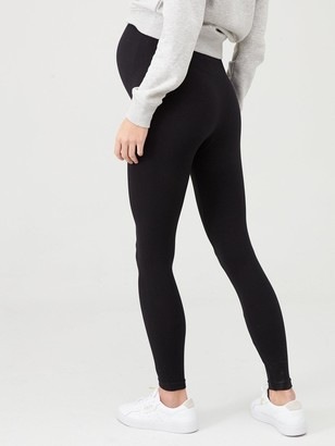 Spanx Mama Look At Me Now Leggings - Black