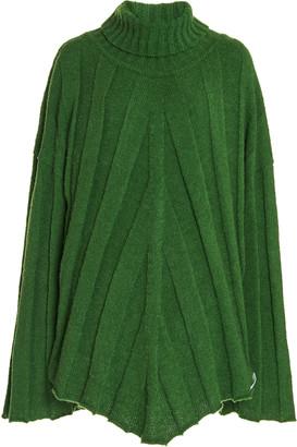 Boyarovskaya Oversized Ribbed-Knit Turtleneck Sweater