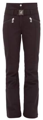 Toni Sailer Anais Belted Ski Trousers - Womens - Black