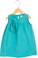 Milly Minis Girls' Sleeveless Bow-Accented Dress