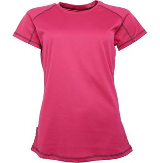 Trespass Womens Viktoria Quick Dry Active Tech Top Pink Lady